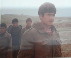 هوشنگ میرشکاری از رزمندگان واحد تخریب تیپ امام سجاد لشکر 19 فجر